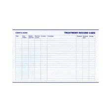 Sterex Cards Treatment Record