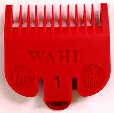 Wahl #1 3mm Red Attachment