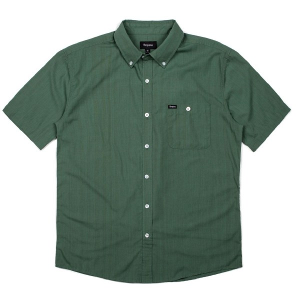 BRIXTON CENTRAL SS WOVEN CHIVE M