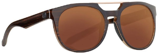 DRAGON PROFLECT MATTE WOOD/COPPER   SUNGLASSES