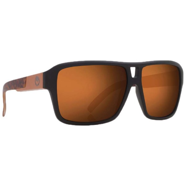 DRAGON THE JAM POLISHED WALNUT BROWN  SUNGLASSES