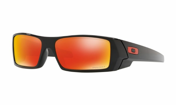 OAKLEY GASCAN POLISHED BLACK/RUBY