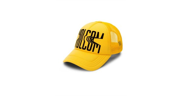 VOLCOM LOST MARBLES HAT CITRUS GOLD