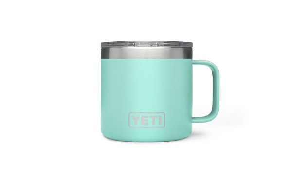 YETI RAMBLER 14 OZ SEA