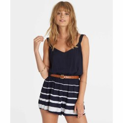 BILLABONG EVER LAST ROMPER DEEP SEA BLUE L
