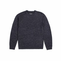 BRIXTON ANDERSON SWEATER GREY XXL