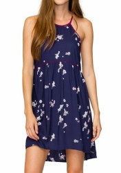 ELEMENT WOMENS BELLOWS DRESS NAVY M