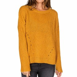 ELEMENT FAREWELL SWEATER DIJON