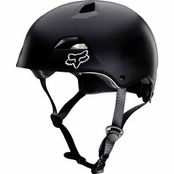 FOX FLIGHT HELMET BLACK L