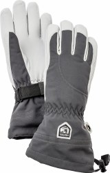 HESTRA HELI WOMENS SKI GLOVE GREY