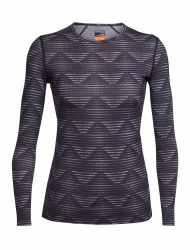 ICEBREAKER WOMENS OASIS LONG SLEEVE CREWE