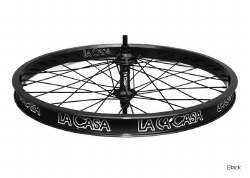 LA CASA FRONT WHEEL DOUBLE BLK