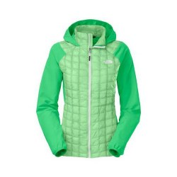 NORTH FACE WOMENS THERMOBALL HOODY GREEN S