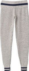 RVCA WOMENS LOOMED PANT HEATHER GREY L
