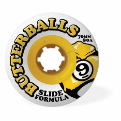 SECTOR 9 BUTTERBALLS WHITE 70MM