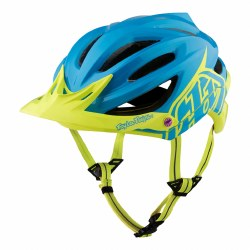 TROY LEE A2 MIPS DECOY CYAN/YELLOW XLX