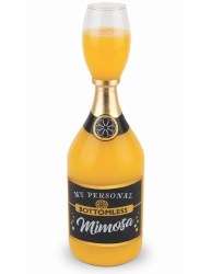 BIG MOUTH MIMOSA BOTTLE GLASS