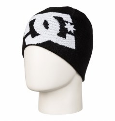 DC BIG STAR BOY BEANIE BLACK