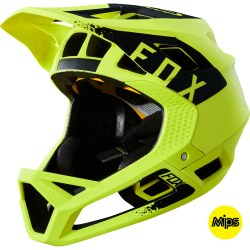 FOX PROFRAME MINK HELMET YELLOW MED