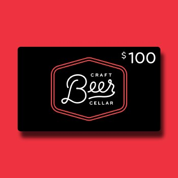 $100 Beer Geek Gift Card