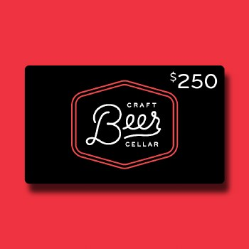 $250 Beer Geek Gift Card