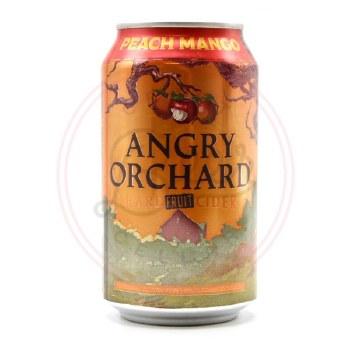 Peach Mango Cider - 12oz Can