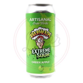 Extreme Sour: Green Apple
