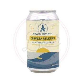 Cerveza Atletica - 12oz Can