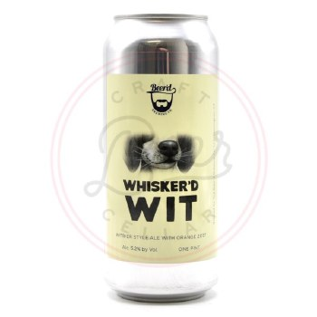 Whiskerd Wit - 16oz Can