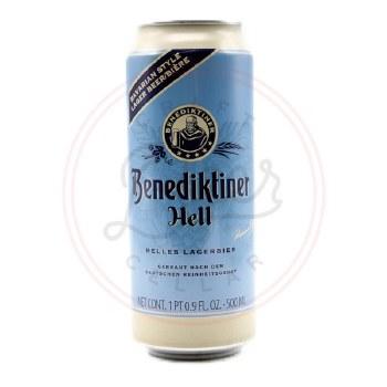 Benediktiner Hell - 500ml Can