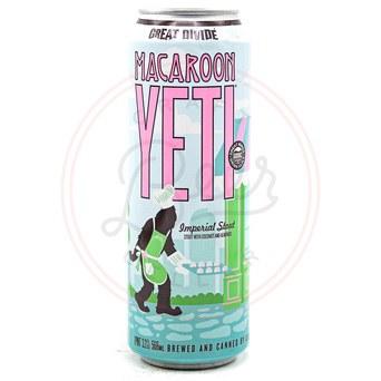 Macaroon Yeti - 19.2oz Can