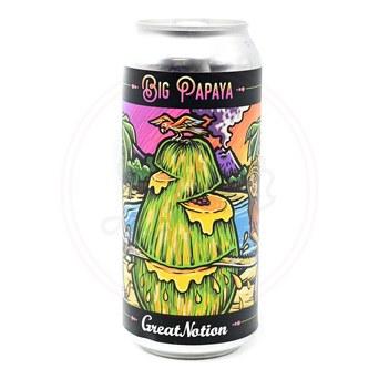 Big Papaya - 16oz Can