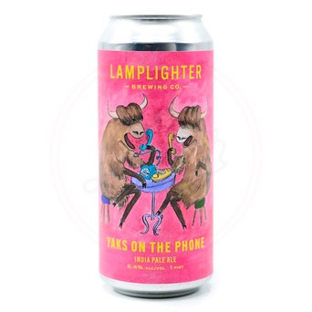 Yaks On The Phone - 16oz Can