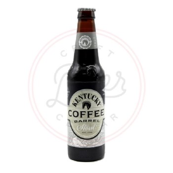 Kentucky Barrel Stout: Coffee