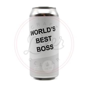 World's Best Boss - 16oz Can