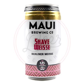 Shave Weiss - 12oz Can
