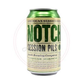 Notch Session Pils - 12oz Can