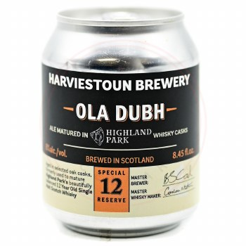 Ola Dubh 12 Year - 250ml Can