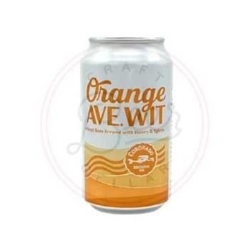 Orange Avenue Wit - 12oz Can