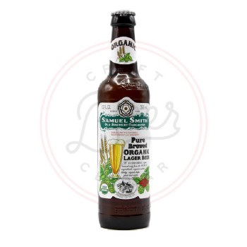 Pure Organic Lager - 355ml