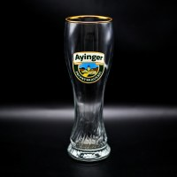 Ayinger Gold Rim Weiss Glass