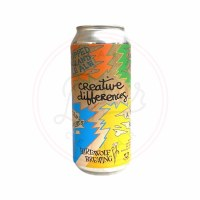 Creative Differences - 16oz Ca