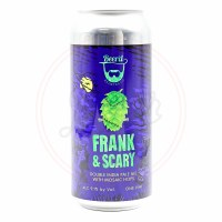 Frank And Scary - 16oz Can