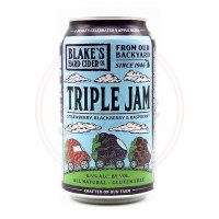 Triple Jam Cider - 12oz Can
