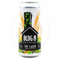 Bldg 8 The Lager - 16oz Can