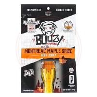 Montreal Maple Spice Jerky