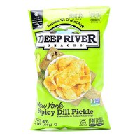 Spicy Dill Pickle Chips