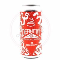 35: Session Ipa - 16oz Can