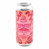 35 Raspberry Peach - 16oz Can