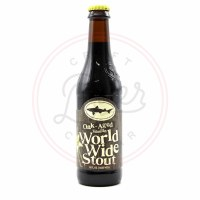 Oak Aged World Wide Stout